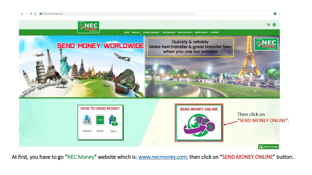 NEC Money